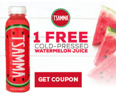 TSAMMA Cold-Pressed Watermelon Juice